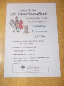 Oktoberfest, Martinszug-Plakat 2018 030